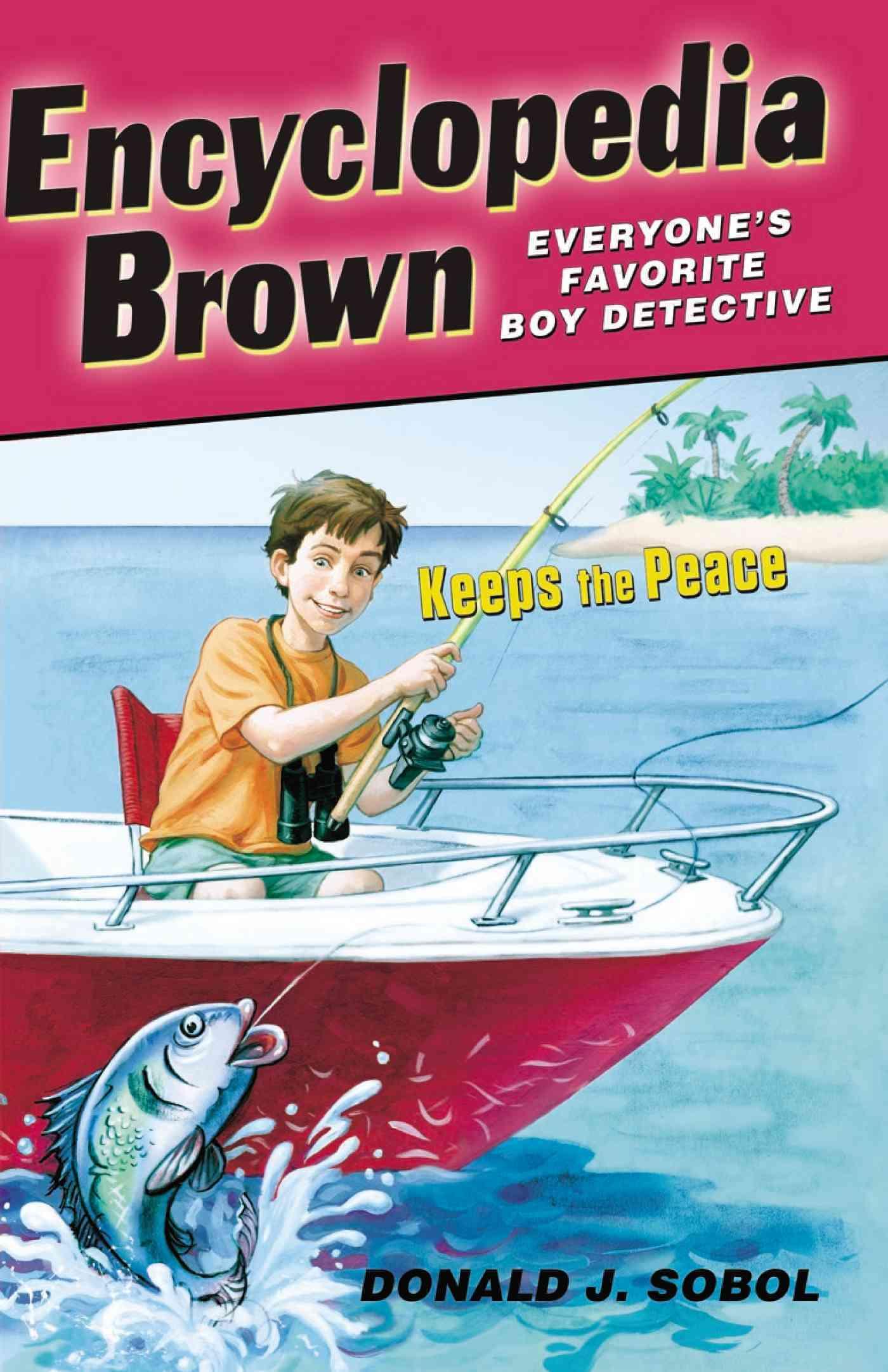 Encyclopedia Brown Keeps the Peace By Sobol, Donald J./ Shortall, Leonard (ILT)